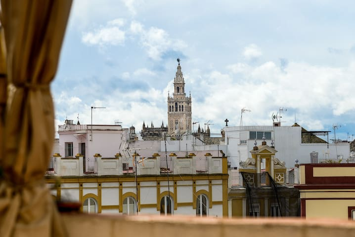 Charming penthouse with views to the Giralda - Sevilla - Condominium