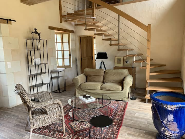 Charmante maison en Touraine, entre champs et bois