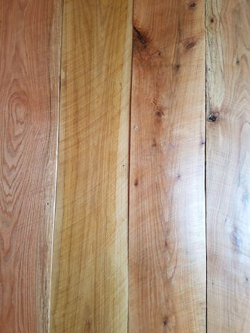 Red Oak plank floors