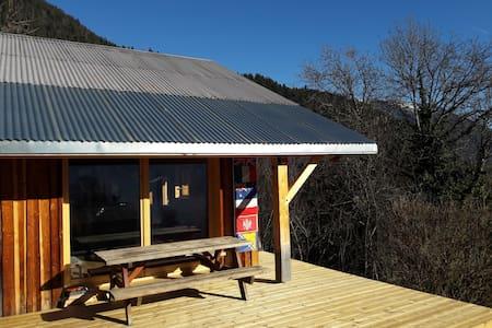 Chambre n°1 dans un chalet à Villard sur Doron - Villard-sur-Doron - Chatka w górach