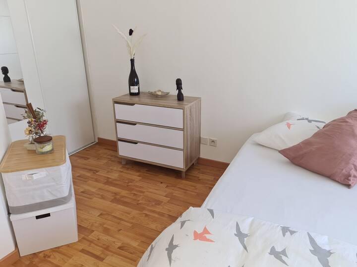 Appartement très cosy et fonctionnel