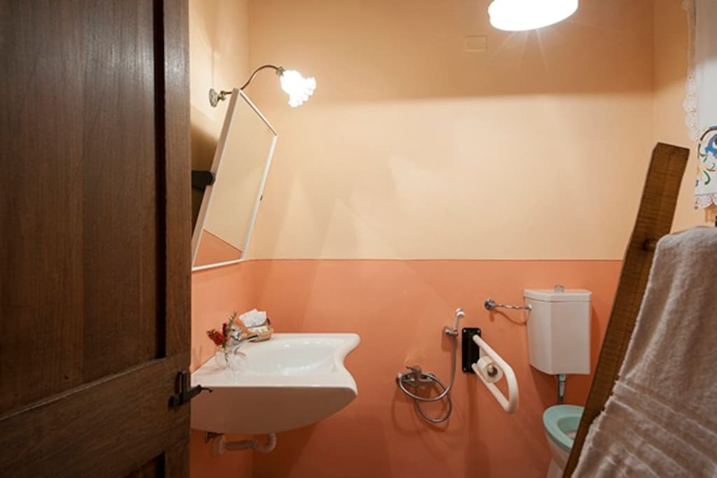 """Winery"" bathroom"