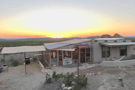 Off Grid Rammed Earth House Artist retreat