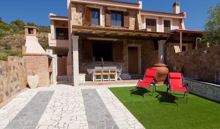 Modernes Haus mit Meerblick und  Strandnähe.