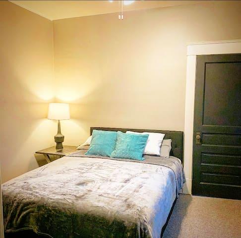 Bedroom One; Queen Size Memory Foam mattress