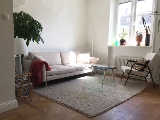 Charming apartment in trendy Södermalm