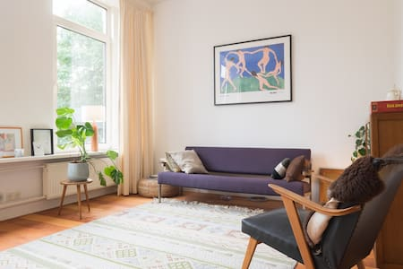 Lovely apartment with parkview - Rotterdam - Appartement