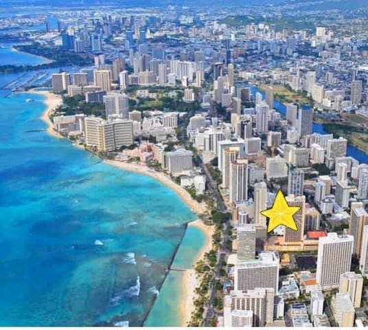 Waikiki Studio Close to the Beach! Legally Zoned