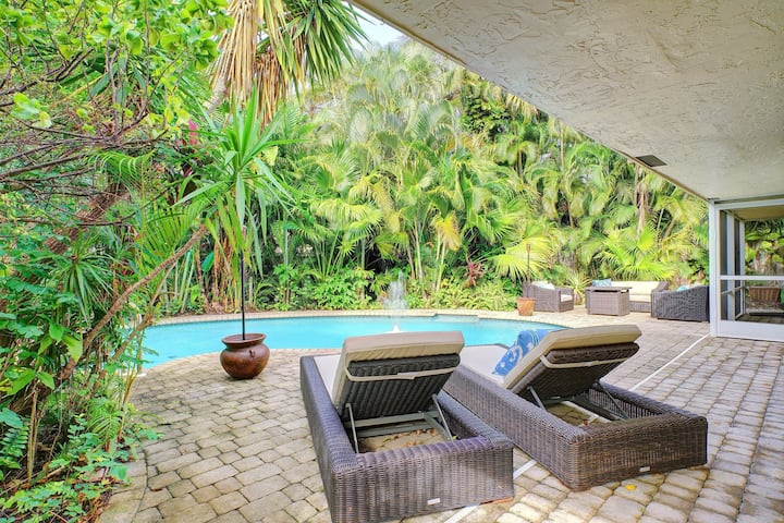 Tropical Paradise Central to Wilton Manors!