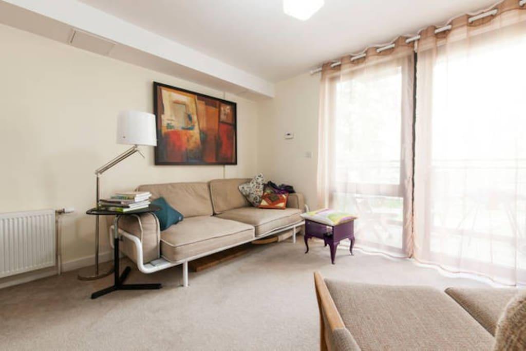 Living room & social space