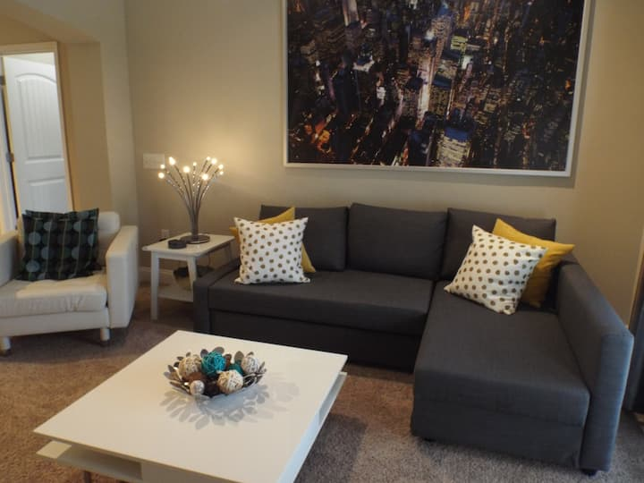 Stunning First-Floor Corporate Apartment near RTP!