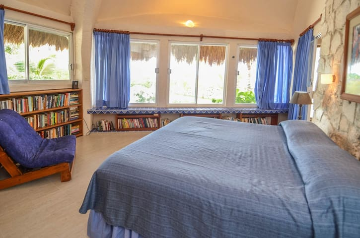 Guesthouse bedroom with King bed