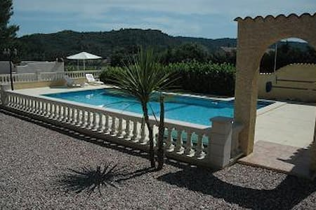 Les Ecologies 2 gites with pool for 8 people - Cessenon-sur-Orb