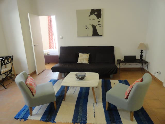 Lovely and Stylish 1 Bedroom Apartment a few minutes from The Croisette