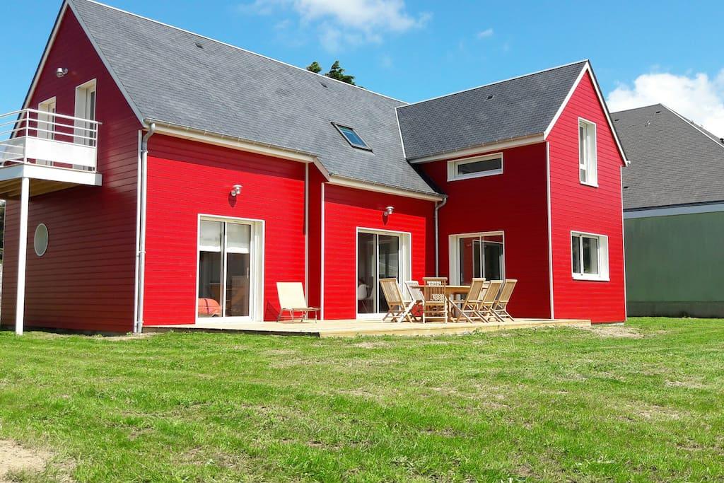 La maison rouge locations saisonni res louer for A la maison rouge