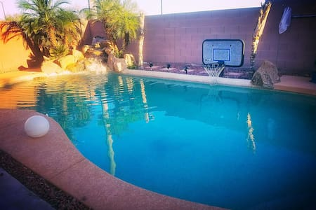 Luxury Phoenix Valley of The Sun Pool Home - Buckeye - House