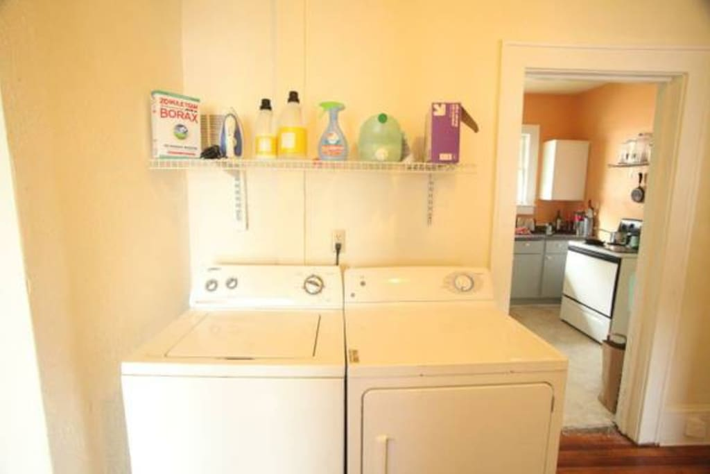 Washer and dryer in apartment