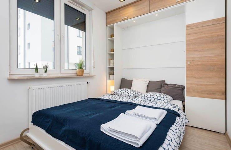 Przytulny apartament dla 4 osób Katowice