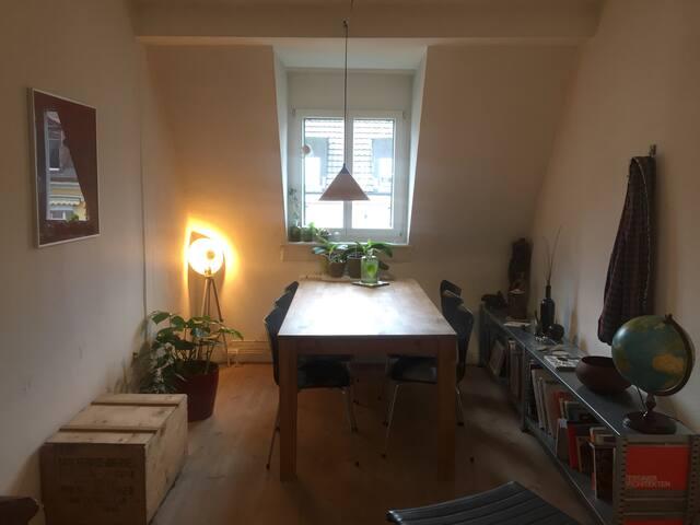 flat for an urban weekend