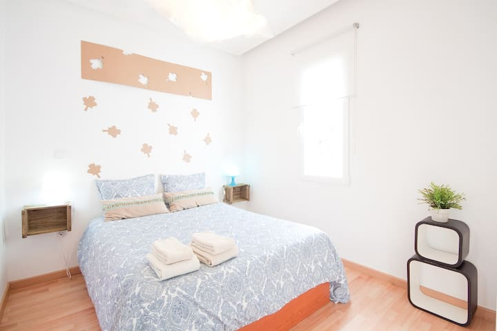 Central Quiet Cozy  A/C + WiFi - Madrid - Appartement