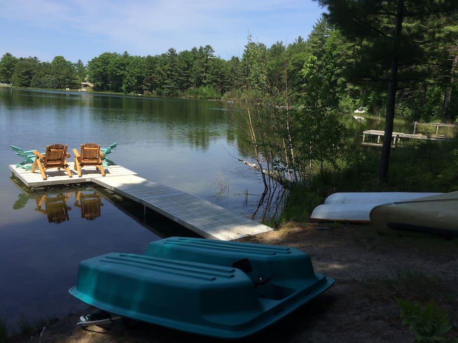 Little Bear Hideaway Lakefront W Outdoor Hot Tub