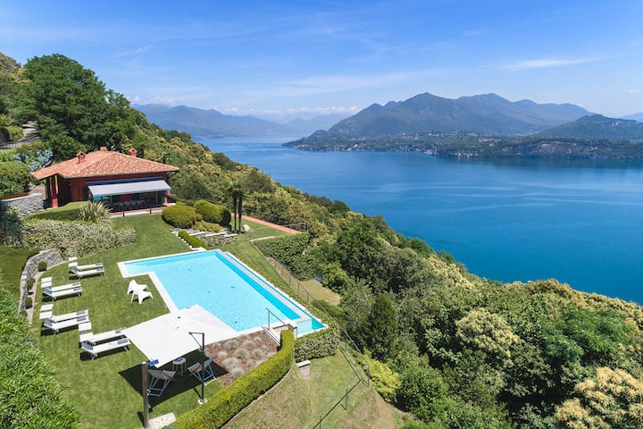Superb villa with pool and views! - Villa Falcone