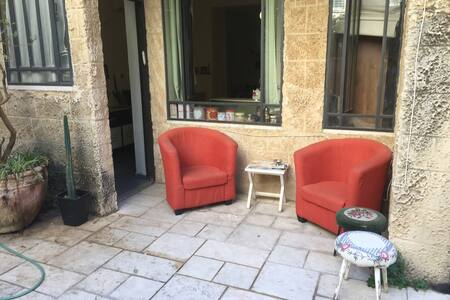 Beautiful studio garden apartment - תל אביב יפו