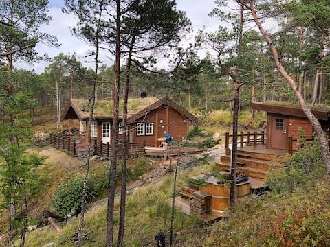 """""""Trollheimen"""" ved Gjølgavann"""