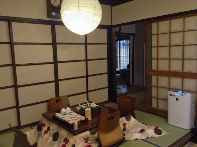 [8mins->Heian Shrine]Machiya-Main Building