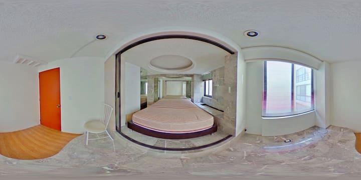 Cómoda habitación privada en Polanco