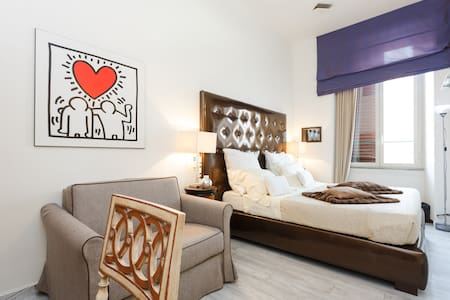 Cozy double/twin room downtown - Rome