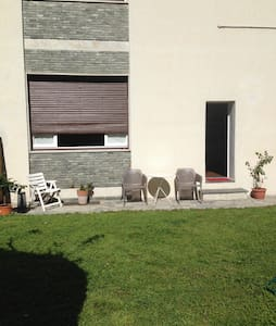 dependance with private garden - Lecco