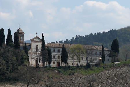 Appartam. in antico convento 1600 - Arcevia