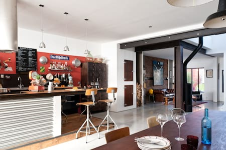 LOFT BORDEAUX, chambre + salle de bain + wc privés - Burdeos - Loft