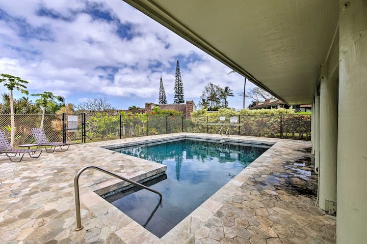 You'll have access to a community swimming pool.