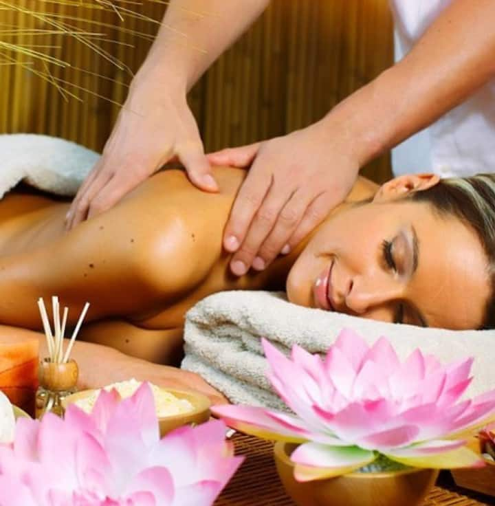 Get your Energy and good massage i am a Masseur .