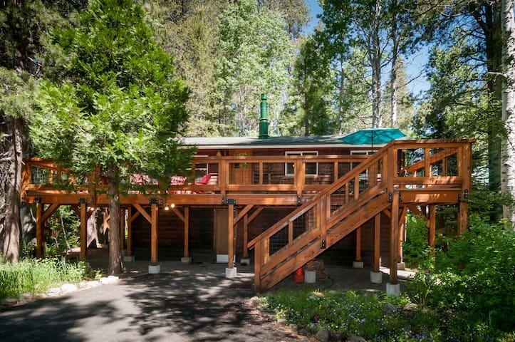 Cabin at Donner Lake