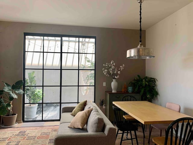 A modern boho  apartment  in Queretaro ☀️