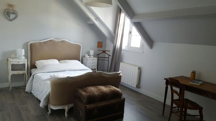 Jolie chambre à la campagne - Bracieux - Dom