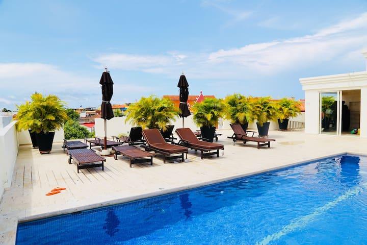 Luxury Apartment, Walled City, Cartagena de Indias