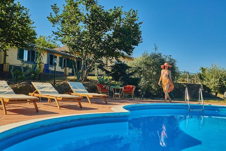Villa Gialla_Case dell'Etna | Villa con piscina