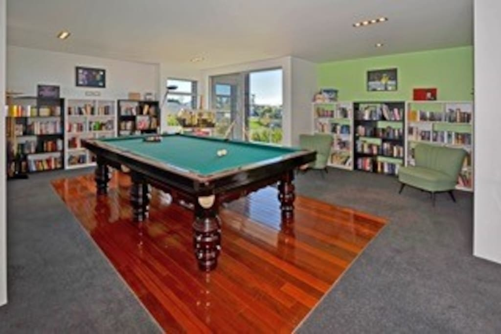 Pool Room & Library