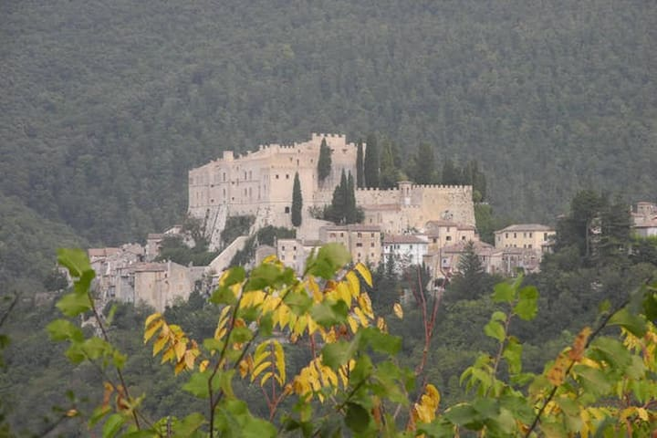 Il Conventaccio Roccasinibalda - Rocca Sinibalda - Rumah