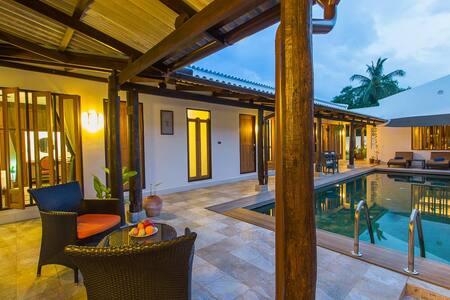 Sino-Portuguese Courtyard Villa, Rawai, 3 bedrooms