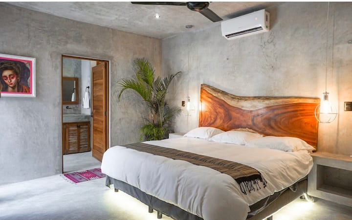Monthly Rent Amazing house in Tulum best internet