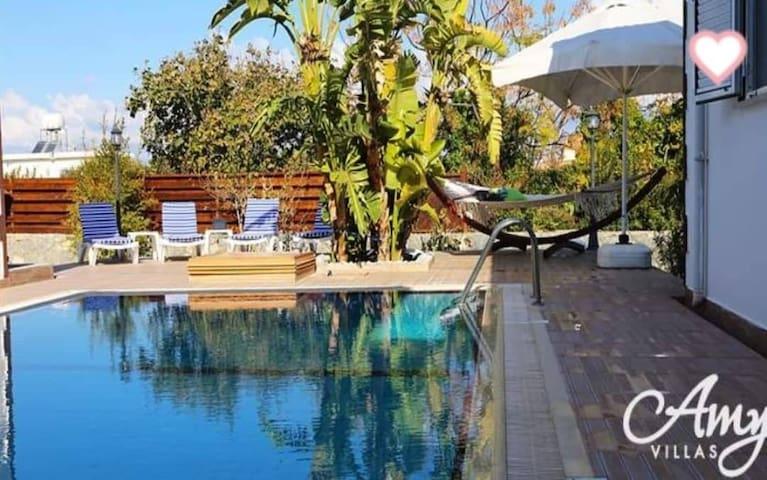 Butterfly villa, luxurious private pool & garden