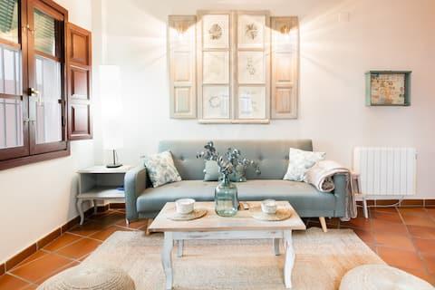Apartamento en el Albaicín y Sacromonte con Alhambra en frente, disfruta Granada