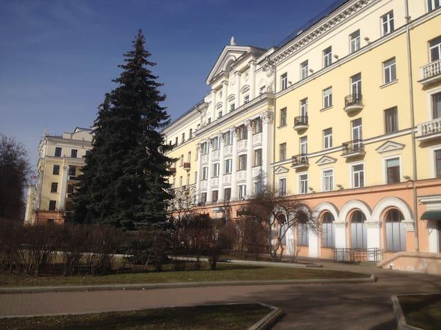 Просторная квартира на пр. Независимости - Mińsk
