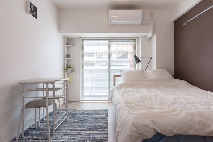 Newly built apartment. Free wifi & two bycycles - Sumida-ku - Huoneisto