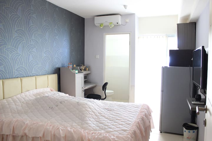 Educity Apartment Studio Room Near Galaxy Mall